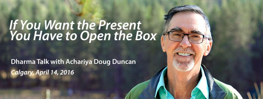 Doug Duncan Dharma Teachings Calgary