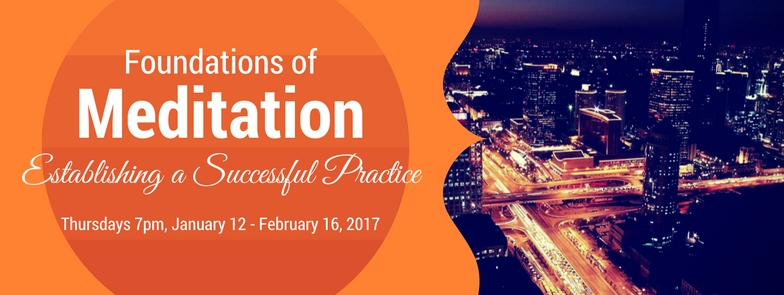 Foundations of Meditation Calgary Classes