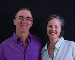 Doug and Catherine Dharma teachers
